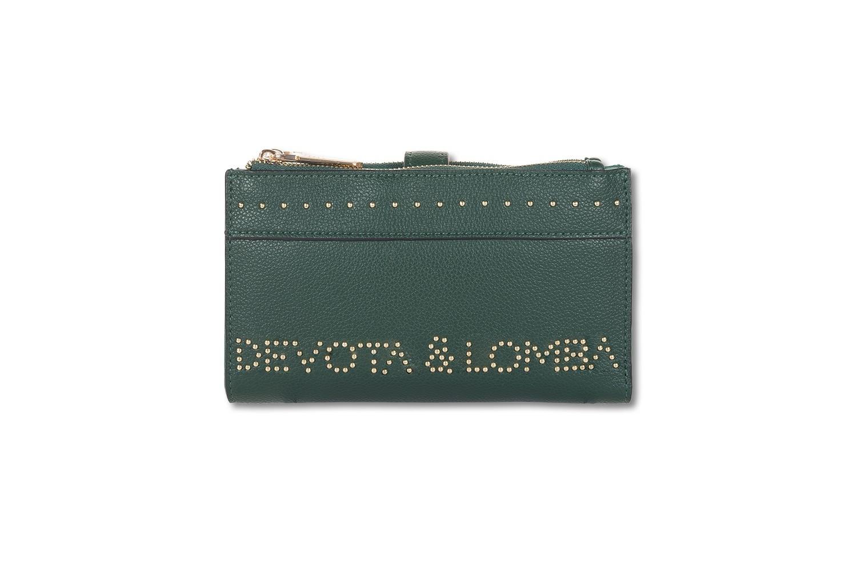 BILLETERO DEVOTA & LOMBA ROCKER VERDE 110.222-01